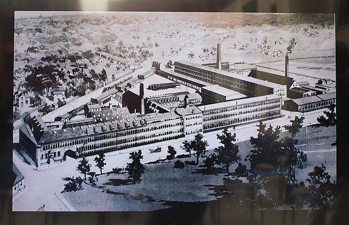 The old Winchester Arms factory complex.