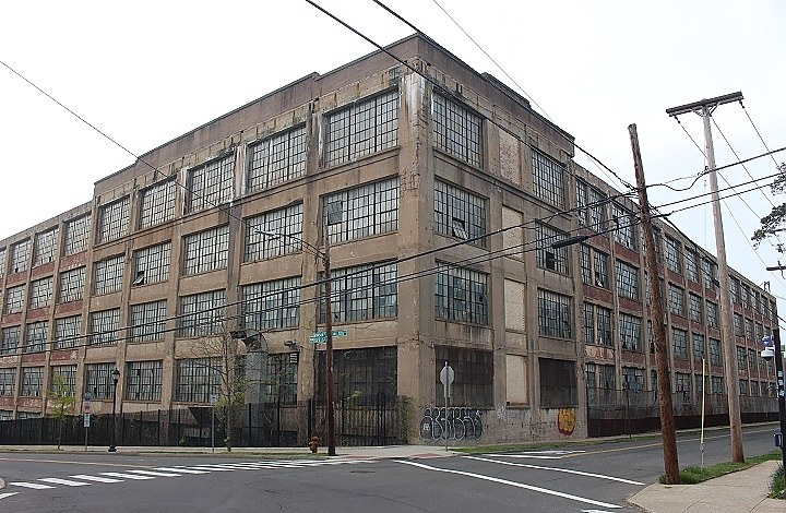 The old Winchester factory building in Mansfield and Munson is scheduled to be demolished.