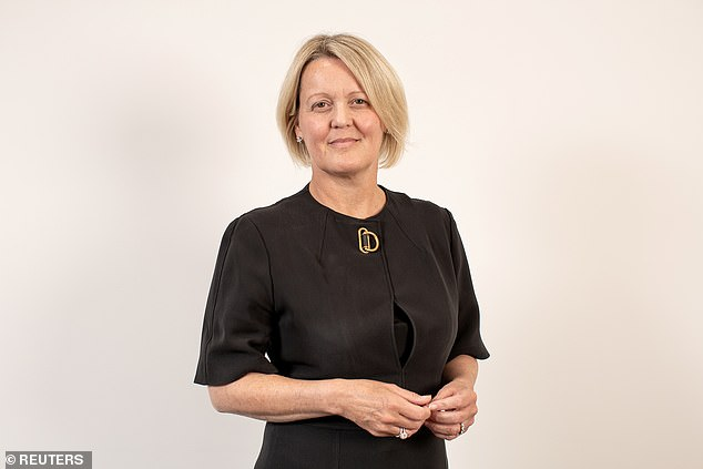 NatWest (the parent company of the Royal Bank of Scotland) has warned that if Scotland becomes independent it will move RBS out of Edinburgh (pictured: RBS boss Alison Rose)