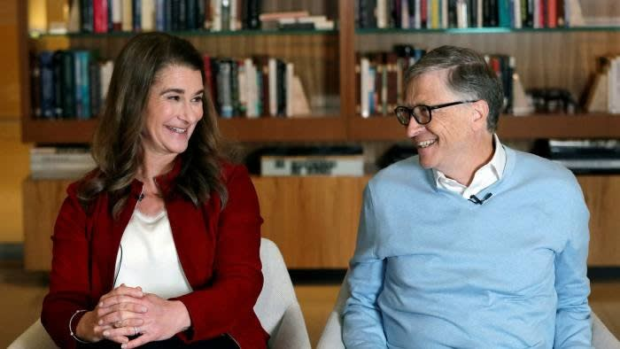 `` After a lot of thought and a lot of work on our relationship, we made the decision to end our marriage, '' Bill and Melinda Gates said in a joint statement © AP