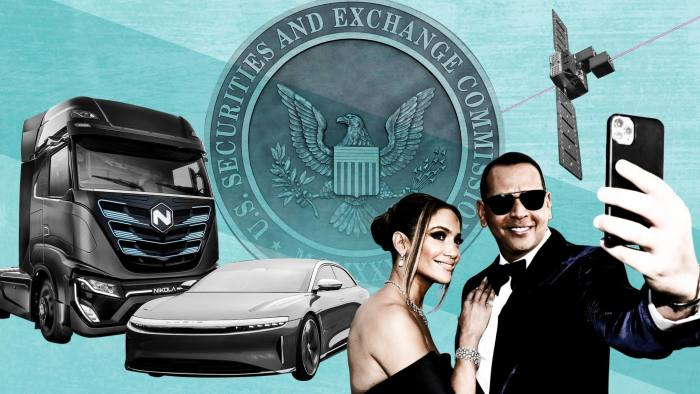 The involvement of stars such as Jennifer Lopez and Alex Rodriguez and the enthusiasm around technologies such as hydrogen trucks have energized the Spac market