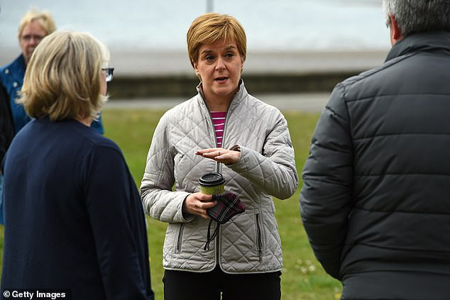 Last Friday on the Today show, Scottish National Party leader Nicola Sturgeon (center of photo) floundered desperately over the question asked by Justin Webb (who has the great knack of being both persevering and polite )
